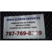 JIREH SCREENS SERVICE  Puerto Rico