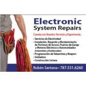 Electronic System Repairs, Category en MajorCategory cubirendo Vega Alta