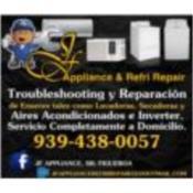 JF Appliances, Category en MajorCategory cubirendo Toa Baja