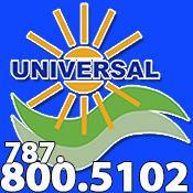 UNIVERSAL SOLAR - PUERTO RICO        787-800-5102 Puerto Rico