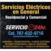 Morales Electric-Refrigeration  Service Puerto Rico
