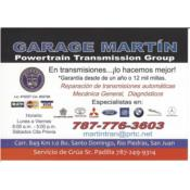 Garage Martin Powertrain Transmision Group Puerto Rico