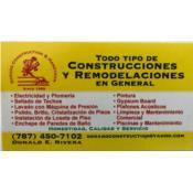 Dorado Construction I Maintenance Corp, Category en MajorCategory cubirendo Dorado