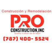 PRO CONSTRUCTION INC Puerto Rico