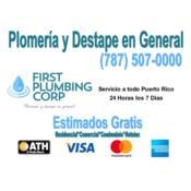 First Plumbing Corp Puerto Rico