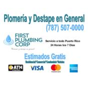 First Plumbing Corp, Category en MajorCategory cubirendo Bayamón