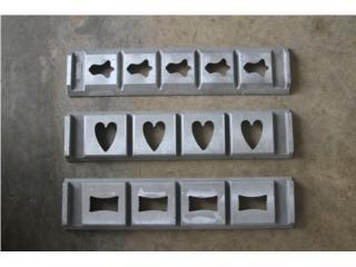 Moldes de maquinas cortadoras de galletas KEK, @ Muñoz Bakery Equipment, Inc. Puerto Rico