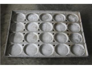 Moldes Pan de Hamburguer, @ Muñoz Bakery Equipment, Inc. Puerto Rico