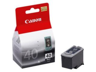Tinta Canon PG40 NEGRA, TONERYMAS.com Puerto Rico