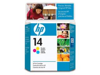 HP #14 Tri-Color Liquidacion, TONERYMAS.com Puerto Rico