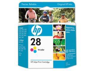 HP #28 Tri-Color Liquidacion, TONERYMAS.com Puerto Rico