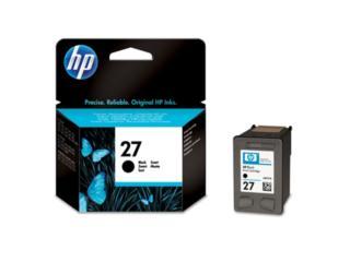 HP #27 Negro en Liquidacion, TONERYMAS.com Puerto Rico