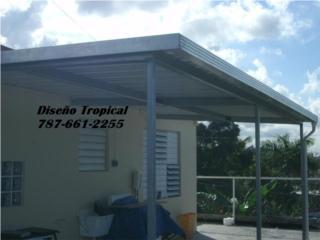 TECHO GALVANIZADO  FUERTE , Diseño Tropical Puerto Rico