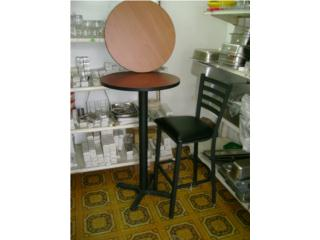 TOPES MESAS STOOL   ( BASE Y TOPE ), Equipos Comerciales Puerto Rico
