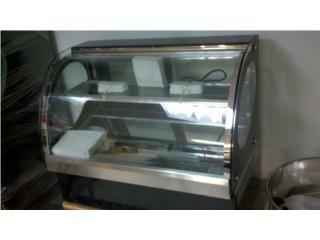 vitrina refrigerada display, Equipos Comerciales Puerto Rico