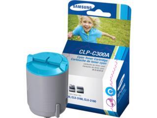 Samsung CLP-C300A CYAN, TONERYMAS.com Puerto Rico