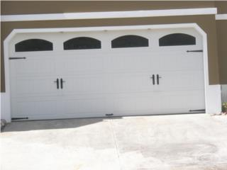 PUERTA GARAGE TODAS CON GARANTIA DE POR VIDA, PUERTO RICO GARAGE DOORS INC. Puerto Rico