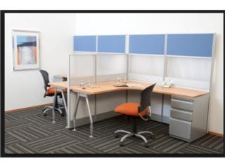 Modulos de Oficina, sillas,archivos stock , A E NOVA Contractors Puerto Rico