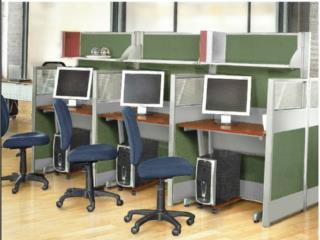 Estaciones de trabajo,Archivos,Sillas y Mas, A E NOVA Contractors Puerto Rico