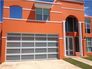PUERTA GARAGE MODELO DE SEGURIDAD ALUMINIO, PUERTO RICO GARAGE DOORS INC. Puerto Rico