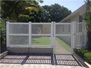 Verja PVC Modelo: Picket, Pro Fence Puerto Rico