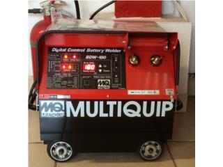 Battery Powered Welder  MQ  30-180 A, DE DIEGO RENTAL Puerto Rico