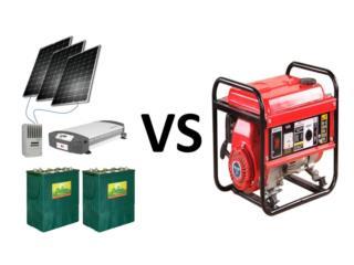 Planta Solar vs Planta Combustible compare, 24/7 Planta Solar Puerto Rico