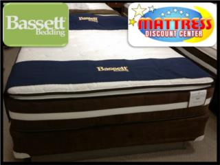Set Mattress Bassett Perfection -Memory Foam-, Mattress Discount Center Puerto Rico