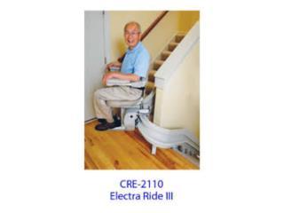 Escalera Electrica / Stairlift / Curva, Equipos Pro-Impedidos Inc. Puerto Rico