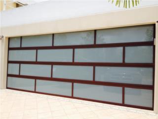 MODELO LUXURY SOLAR BRONCE FINANCIADAS, PUERTO RICO GARAGE DOORS INC. Puerto Rico