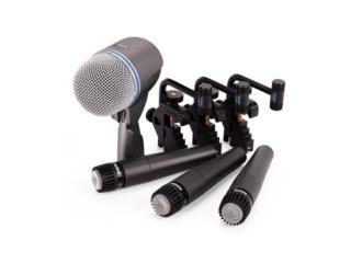 Kit de microfonos de bateria Shure DMK-57, Baldorioty Music Puerto Rico