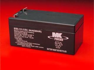 Bateria MK ES3-12 PAR, Equipos Pro-Impedidos Inc. Puerto Rico