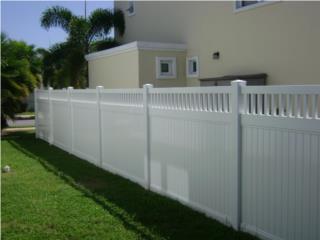 Verjas PVC, S.I.M. Fence Installation Puerto Rico