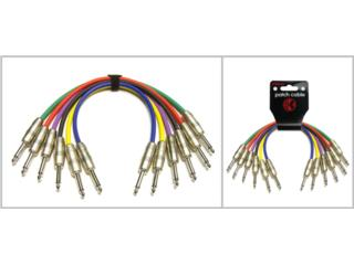 Cablerias 1/4 a 1/4  Cable Patch (SONIDO), Music & Technology Puerto Rico