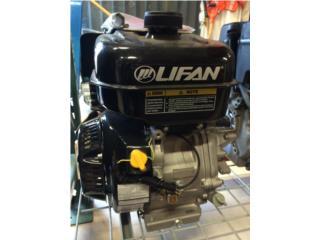 Motor  Lifan 9hp  con Transmision Shaft 1, DE DIEGO RENTAL Puerto Rico