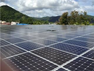 Sistema de paneles Solares Industrial, 24/7 Planta Solar Puerto Rico