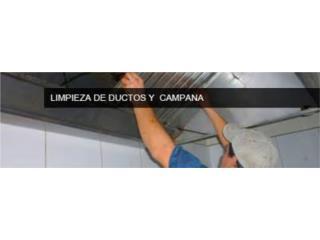 CAMPANA LIMPIEZA  RESTAURANTES , FIRE FOE INC. Puerto Rico