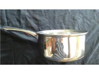 OLLA TIPO CACEROLA 2O CM EN STAINLESS STEEL, IB STORE Puerto Rico