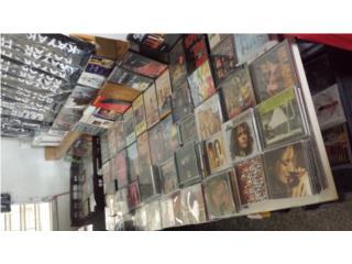 CD' NUEVOS,ROCK,JAZZ,MUSICA CLASICA, DRONES PLASTICOS  Puerto Rico