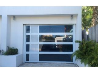 Puerta garage modelos nuevos combinados 2020, PUERTO RICO GARAGE DOORS INC. Puerto Rico