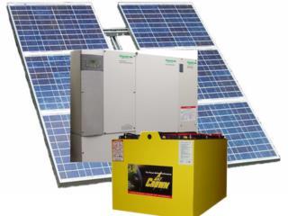 Planta Solar Independiente Sin contrato , 24/7 Planta Solar Puerto Rico