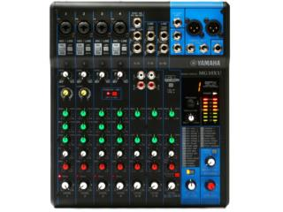 CONSOLA YAMAHA  (10 CANALES CON FX), STEVAN MICHEO MUSIC Puerto Rico