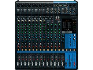 Consola Yamaha MG16XU (16 CANALES CON FX), STEVAN MICHEO MUSIC Puerto Rico