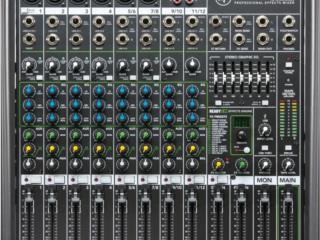 Consola Mackie (12 canales con FX y entrada USB) , STEVAN MICHEO MUSIC Puerto Rico
