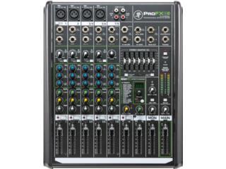 Consola MACKIE 8 canales con FX y entrada USB, STEVAN MICHEO MUSIC Puerto Rico