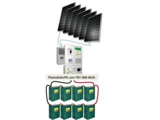 Planta Solar sin Humo y ruido Baje su factura, 24/7 Planta Solar Puerto Rico
