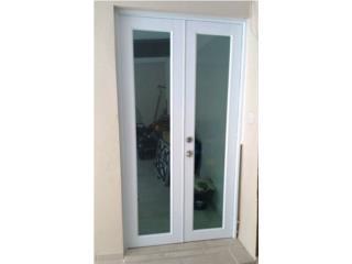 Puerta Aluminio Regular Full Glass 48 x 96, MG Inter / Space Designs Puerto Rico