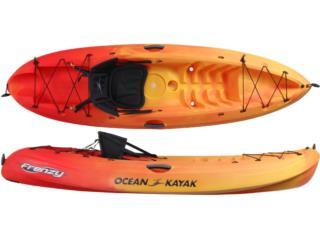 OK Frenzy Para Botes y Casa de Playa, Aqua Sports Kayaks Dsitributors Puerto Rico Puerto Rico