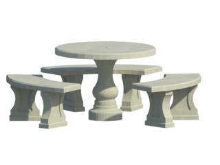 Juego de mesa pulida bancos cemento puerto rico for Puerto rico juego de mesa