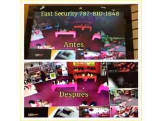 Cámaras Digitales no Analogas, FAST SECURITY  Puerto Rico
